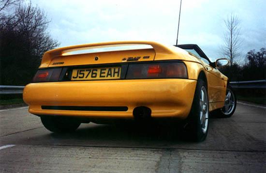 Lotus Elan S2. BBR mistral elan SE