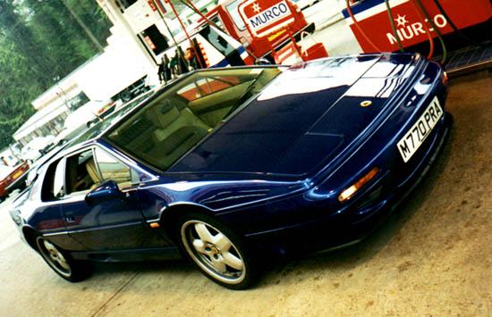 Jackals Racetrack My 1995 Esprit S4